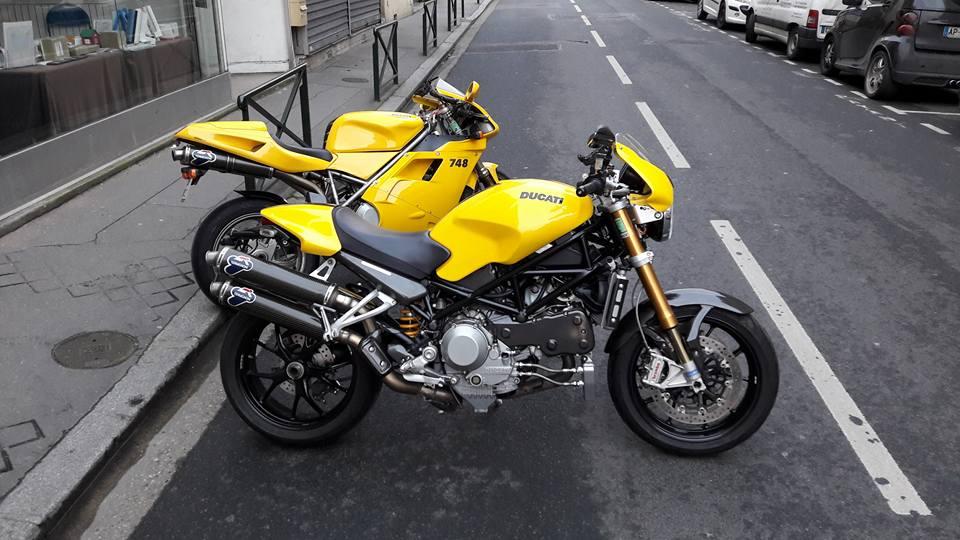 ducati jaune big block