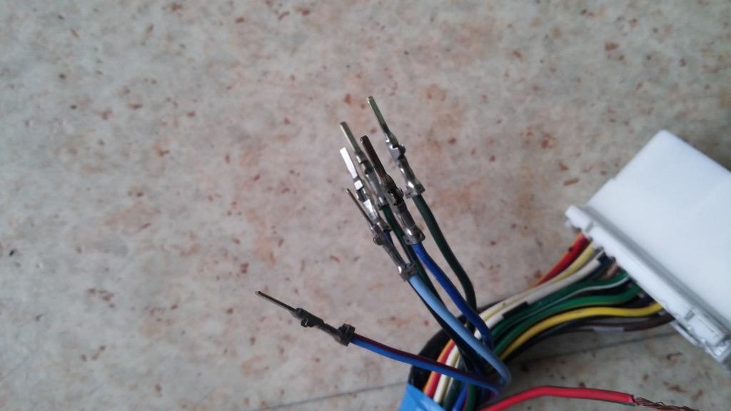 renovation connecteur faisceau