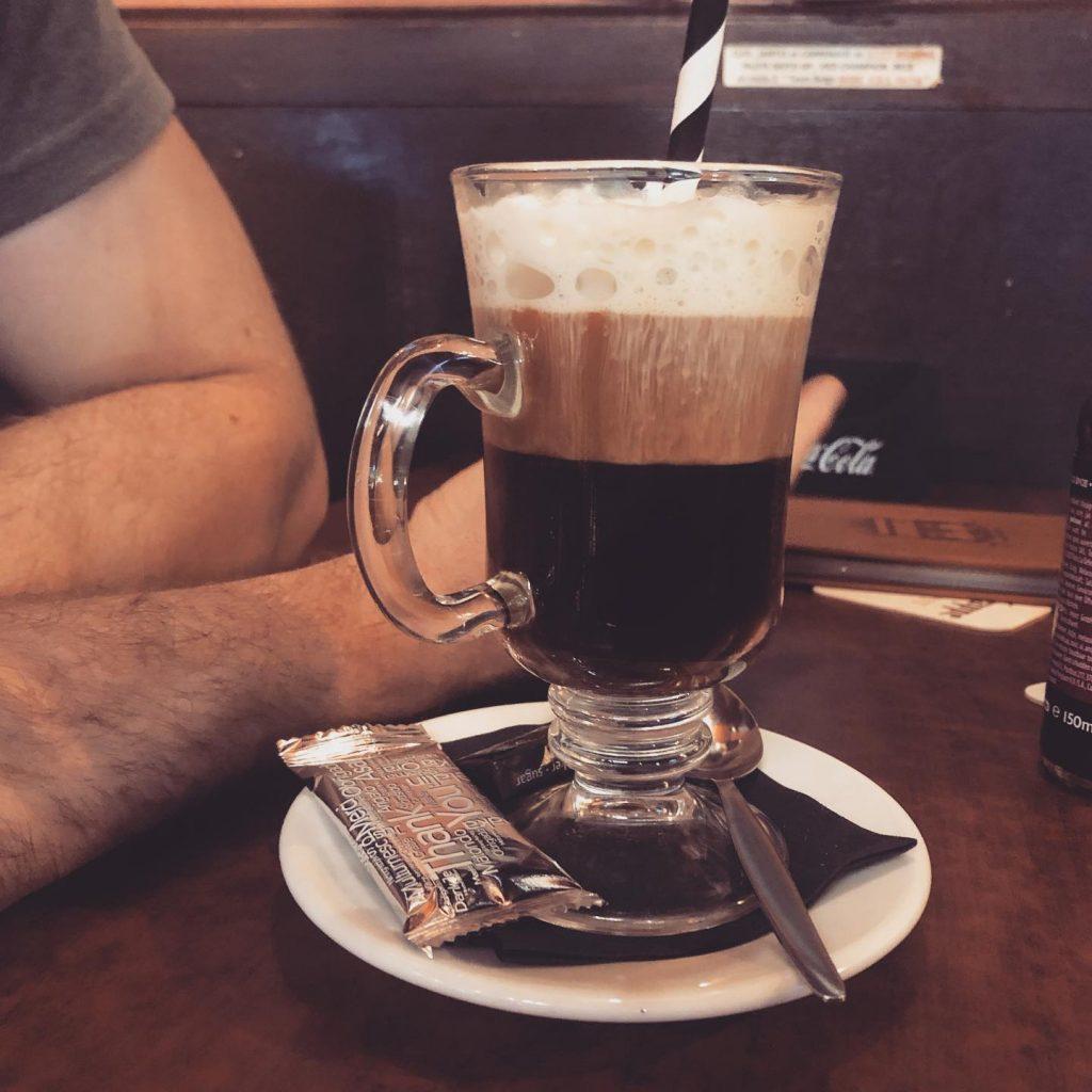 chimay irish coffee